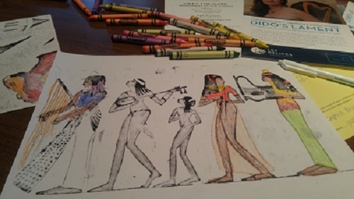 Free Family Event: A Harp Quartet, Coloring andCocktails