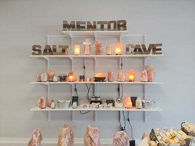The Himalayan Salt Cave experience in Mentor, Ohio